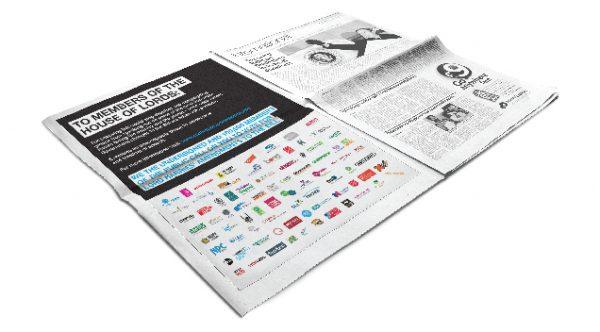 38 Degrees Campaign Press ad