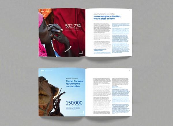 Adeso impact report design