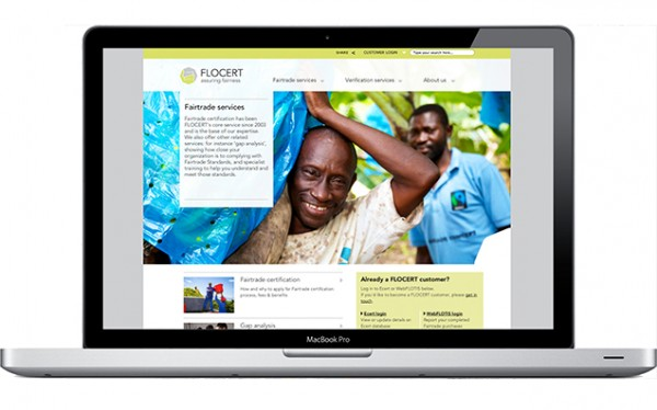 FLOCERT Website design