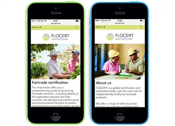 FLOCERT responsive design