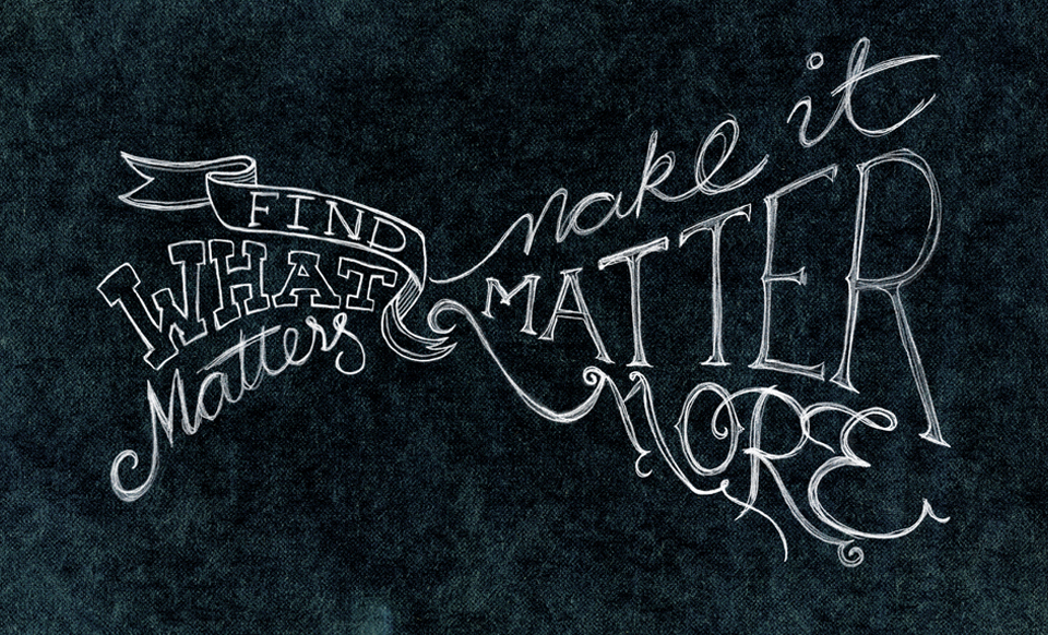 Make it matter more Neo graphic