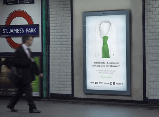 Stop Climate Chaos Tube ad