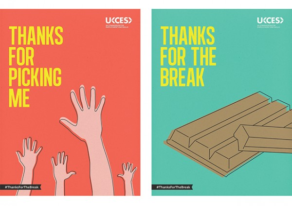 UKCES - Thanksfor the break