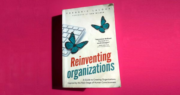 Reinventing Organisations book cover