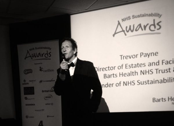 Monty Don speaking at the 2-15 NHS Sustainability Awards